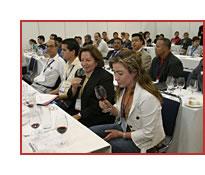 Catas de vino en Alimentaria 2007