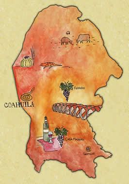 Presentacion de la region vinicola de Coahuila en Mexico