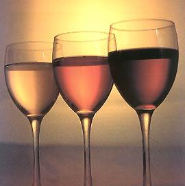 Cata de tres rosado, claretes y tintos jovenes (sigue)