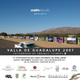 Visita la exhibicion Valla de Guadalupe