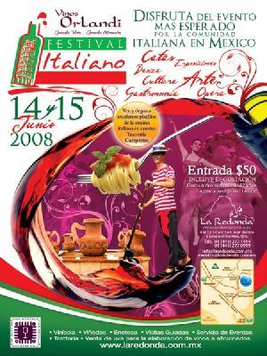 Descubra el festival de vino italiano en Mexico