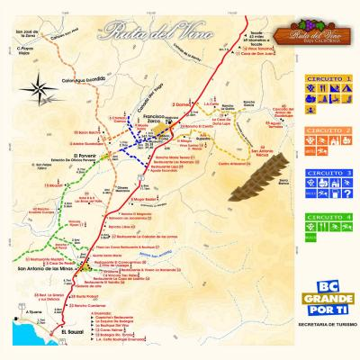 La ruta del vino en Baja California, Mexico