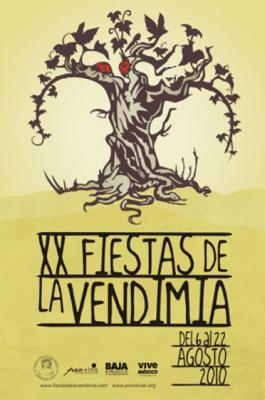 Fiestas de la vendimia en Mexico, del 5 al 22 de agosto 2010