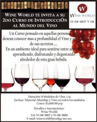 WineWorld presenta vinos mexicanos